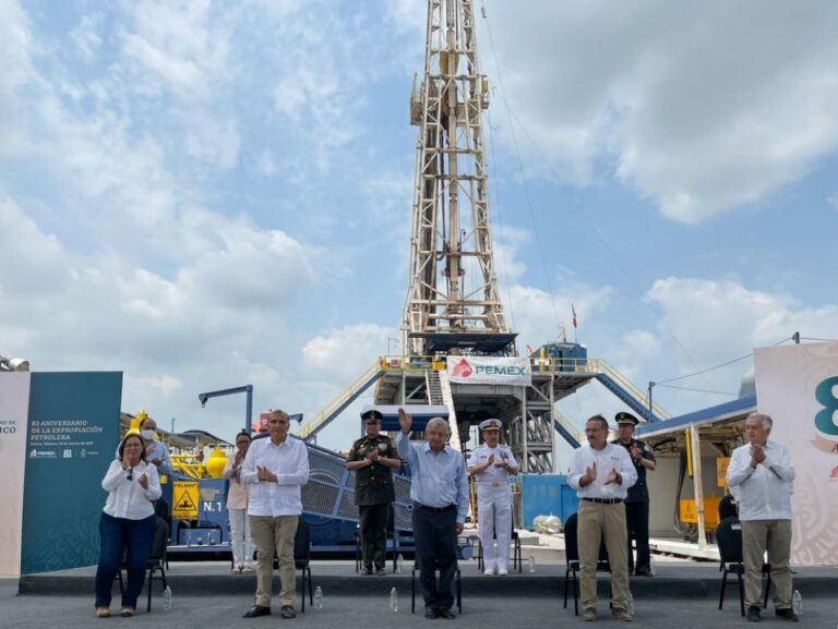 Mexico announces discovery of an oil field, AMLO claims big find will be exclusively for domestic use