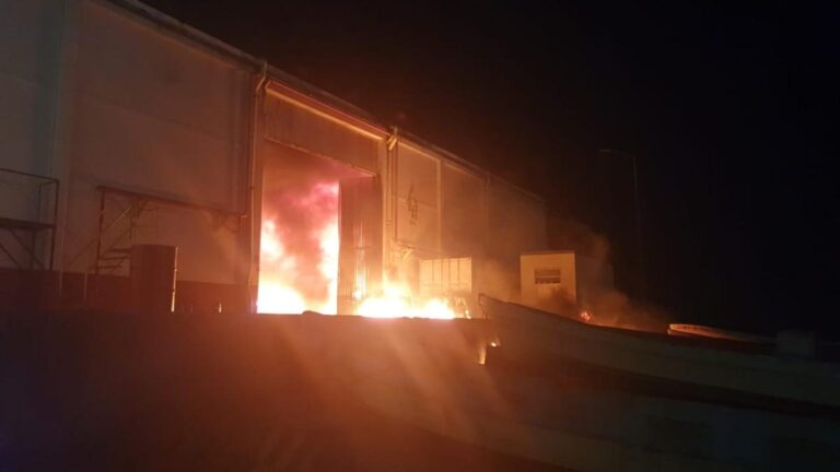 Fire at AMLO's under construction Dos Bocas Refinery